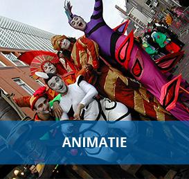 Animatie artiesten boeken bij Euro Entertainment