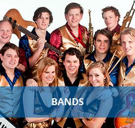 Bands boeken bij Euro Entertainment