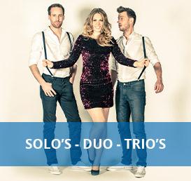 solo duo of trio artiesten boeken bij Euro Entertainment