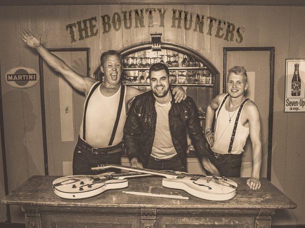 The Bounty Hunters ft. Johannes Rypma boeken? - Euro-Entertainment B.V.