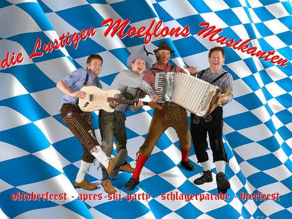 Die Lustigen Moeflons Musikanten boeken? - Euro-Entertainment B.V.