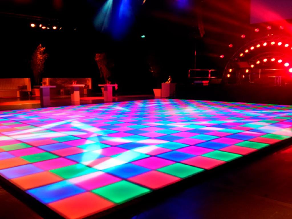Verlichte Dansvloer led boeken? -Euro Entertainment