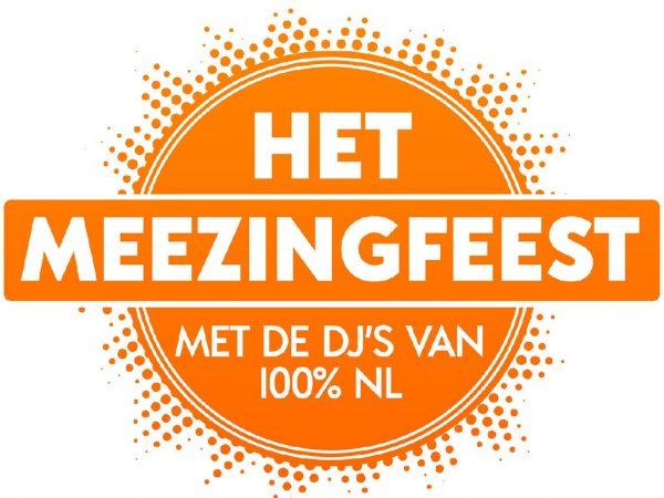 Het Meezingfeest met de DJ'S VAN 100% NL boeken? - Euro-Entertainment B.V.